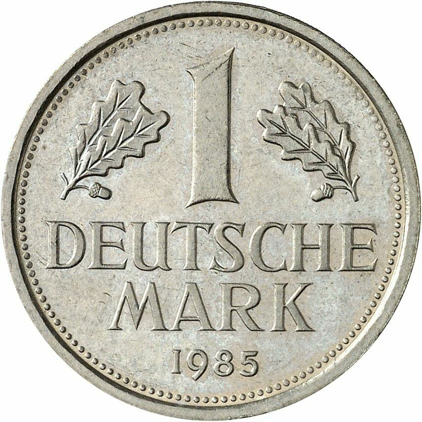 DE 1 Deutsche Mark 1985 G