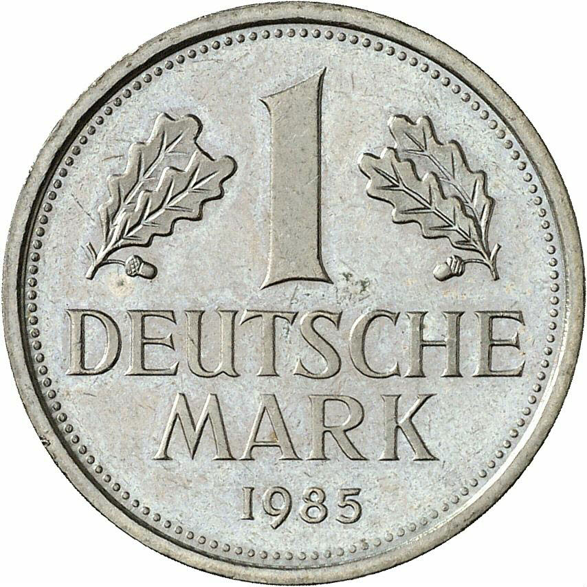 DE 1 Deutsche Mark 1985 J