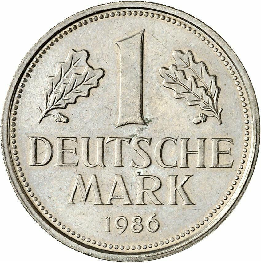 DE 1 Deutsche Mark 1986 D