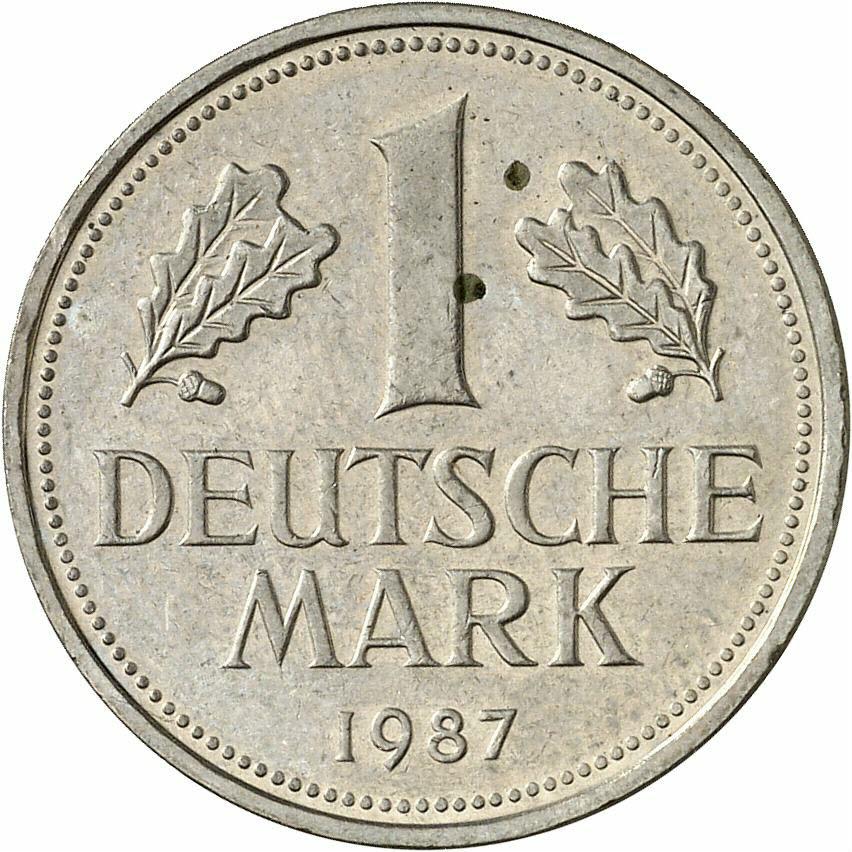 DE 1 Deutsche Mark 1987 D