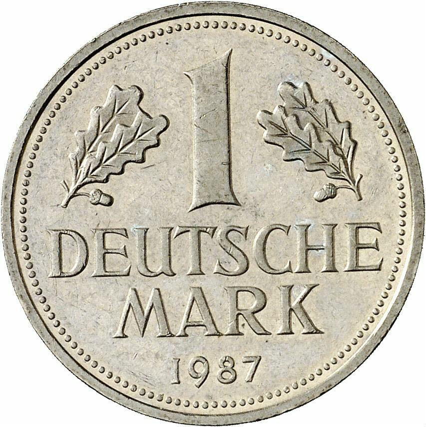 DE 1 Deutsche Mark 1987 J