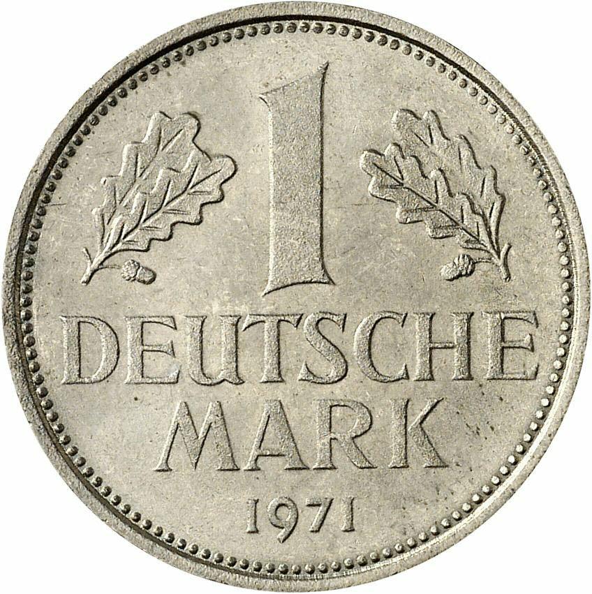 DE 1 Deutsche Mark 1971 F