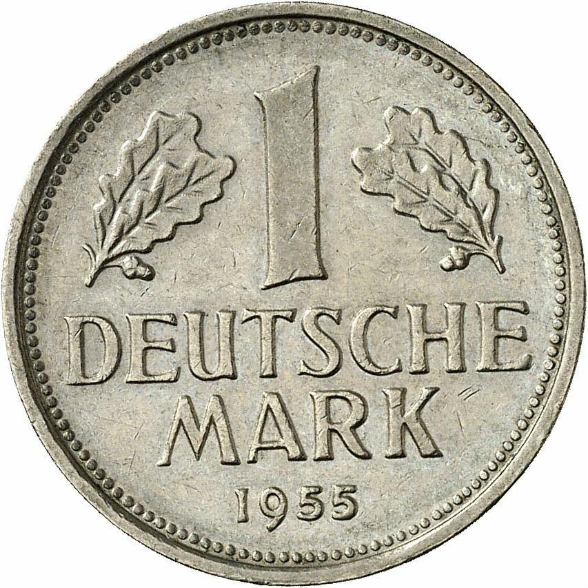 DE 1 Deutsche Mark 1955 G