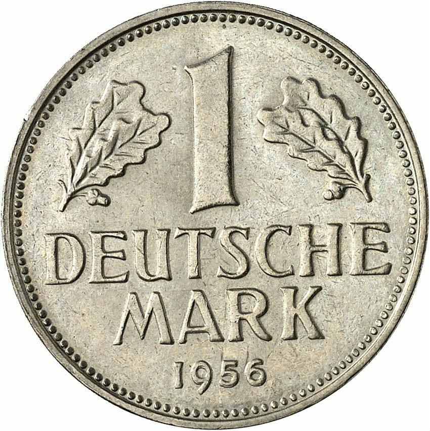 DE 1 Deutsche Mark 1956 G