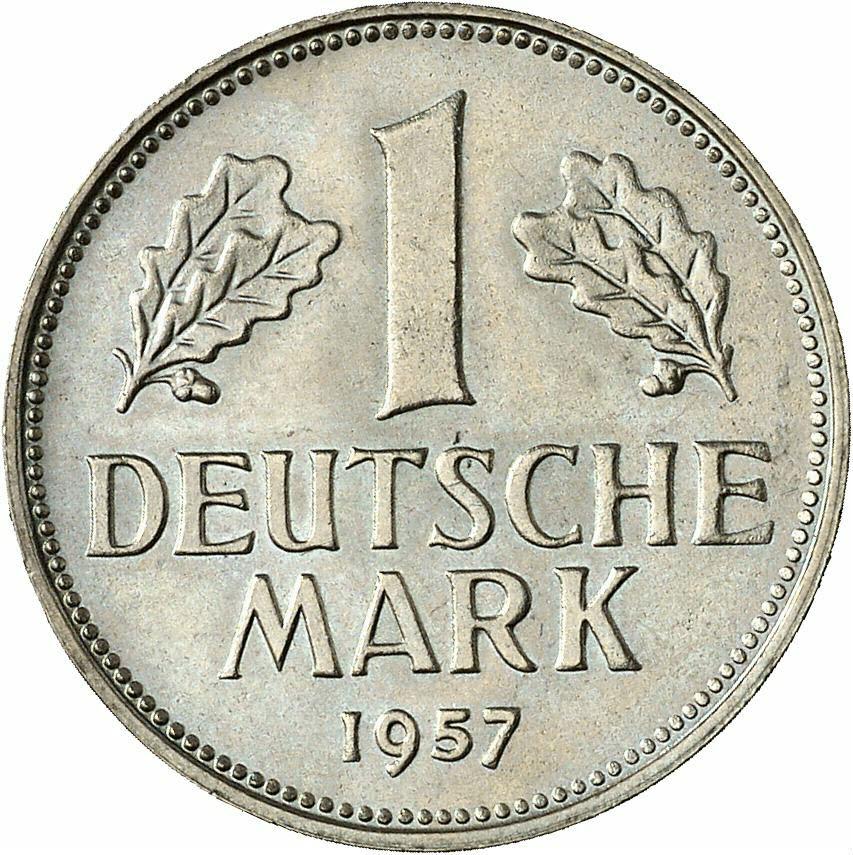 DE 1 Deutsche Mark 1957 G