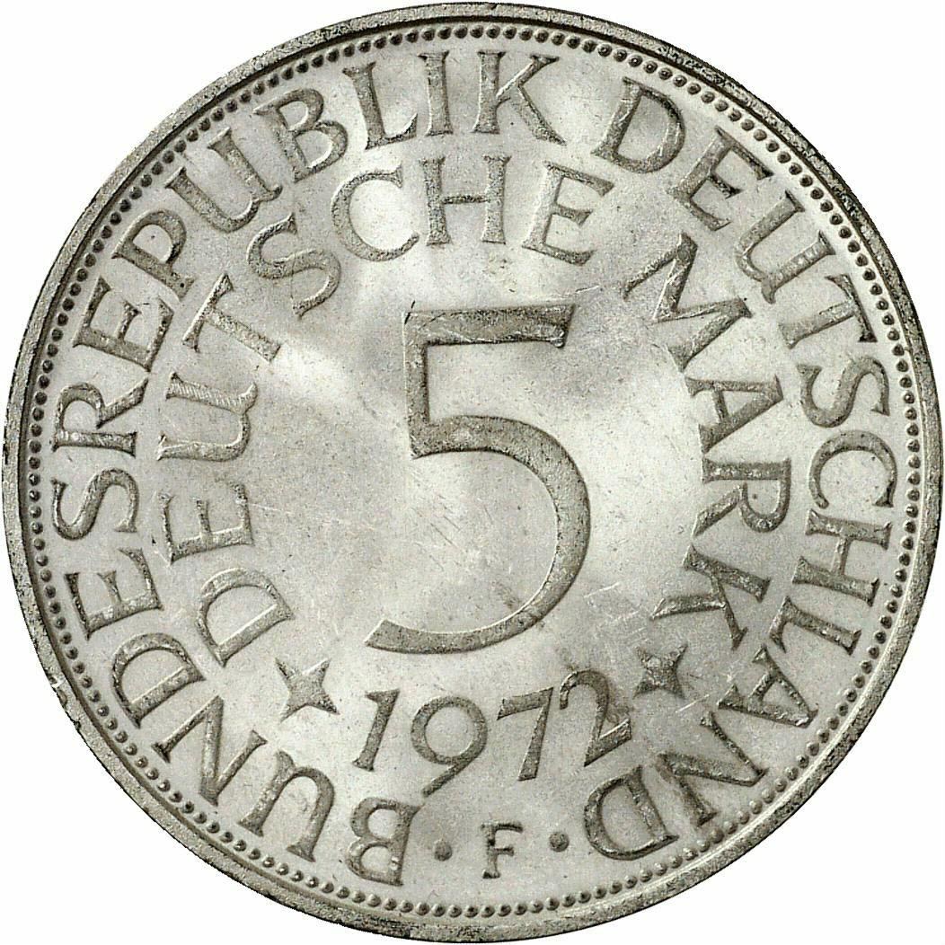 DE 2 Deutsche Mark 1972 F