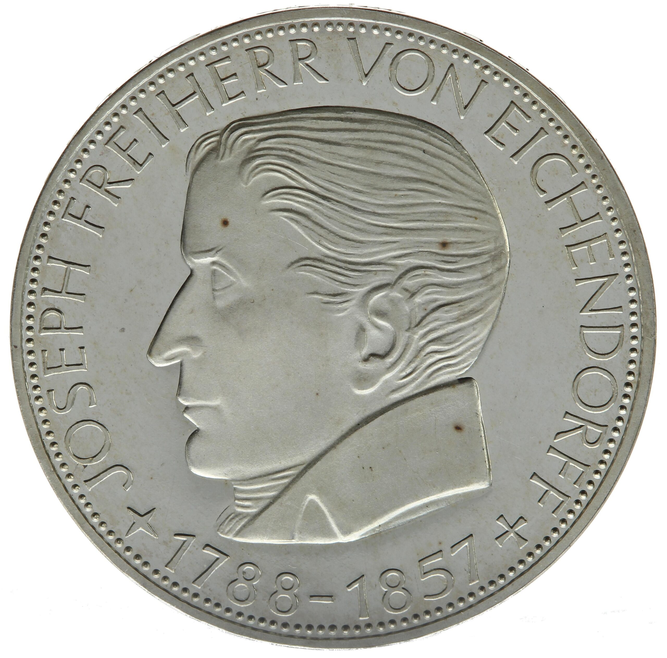 DE 5 Deutsche Mark 1957 J