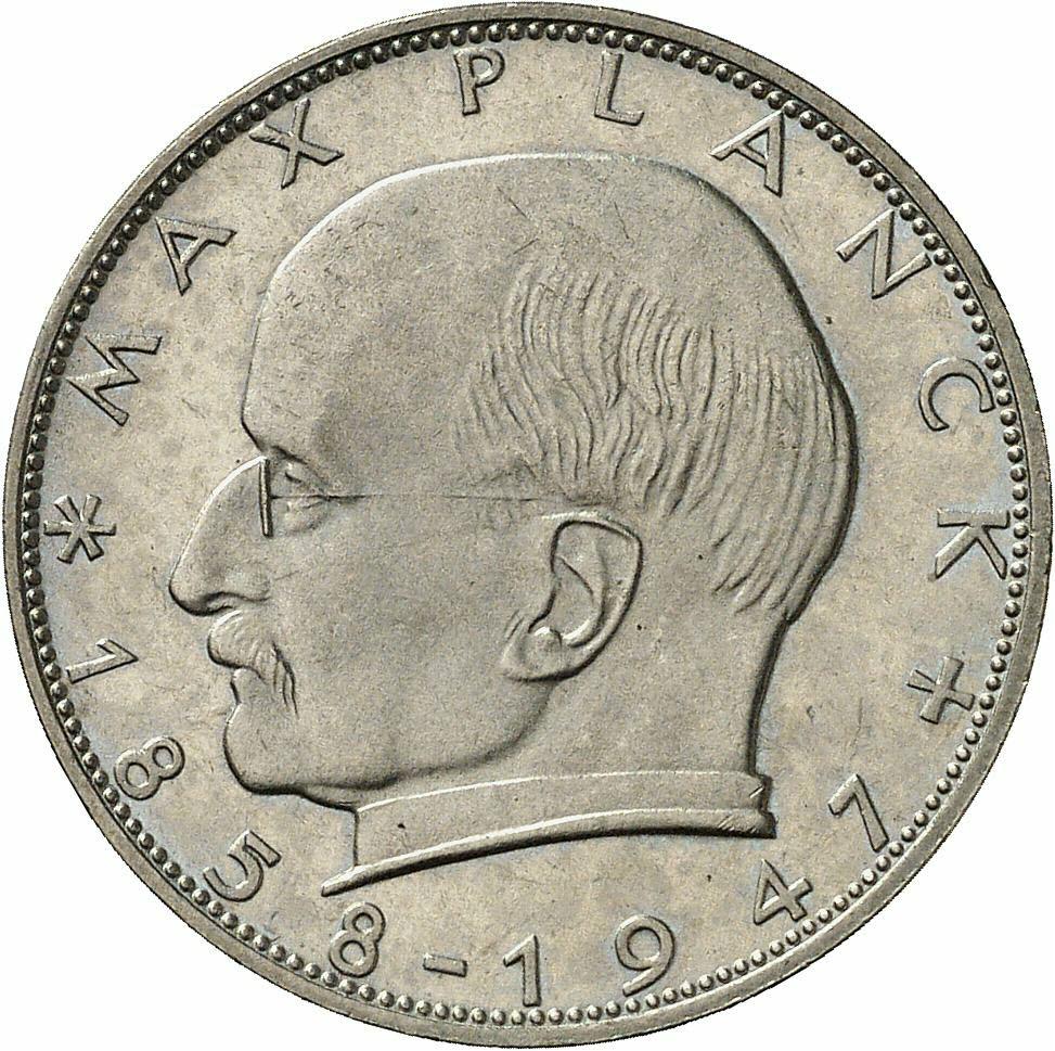 DE 2 Deutsche Mark 1961 J
