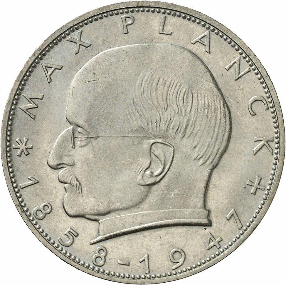 DE 2 Deutsche Mark 1961 F