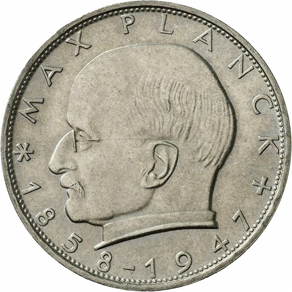 DE 2 Deutsche Mark 1965 F