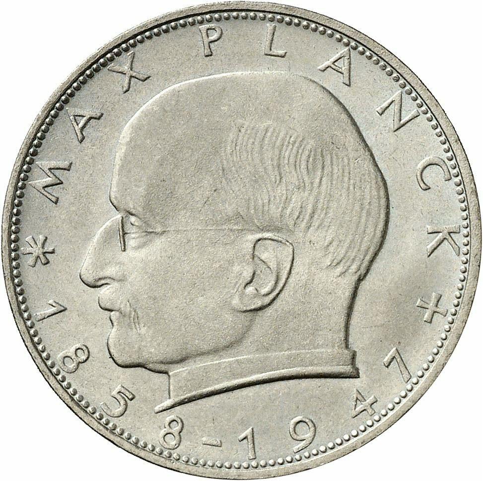 DE 2 Deutsche Mark 1963 F