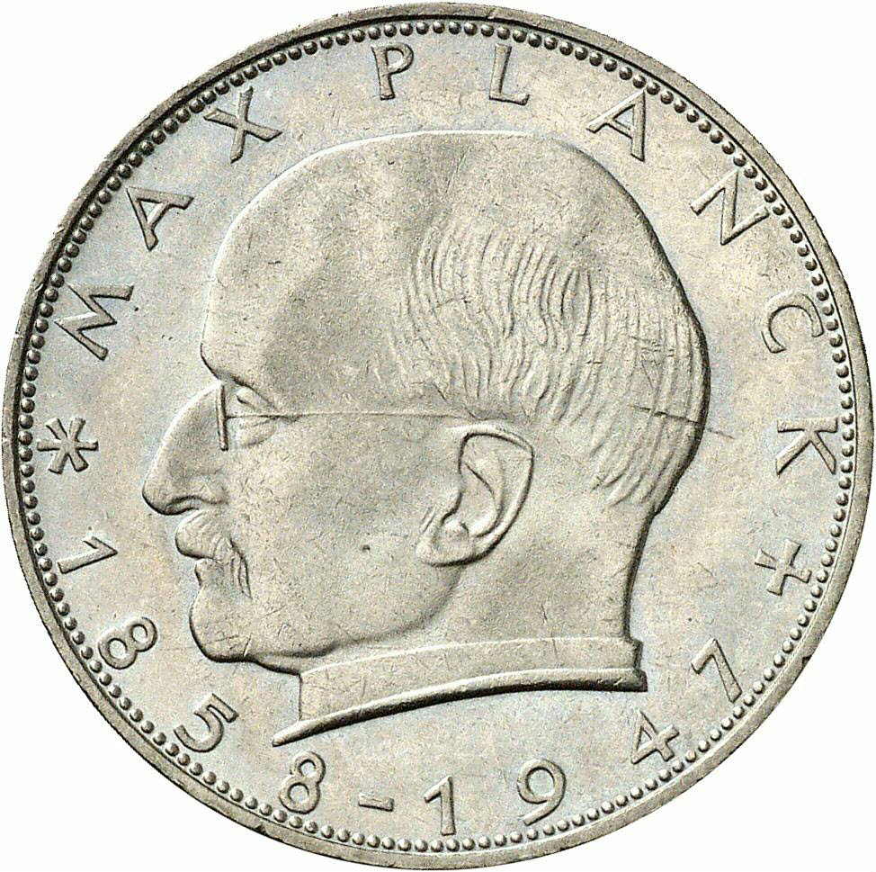 DE 2 Deutsche Mark 1962 F