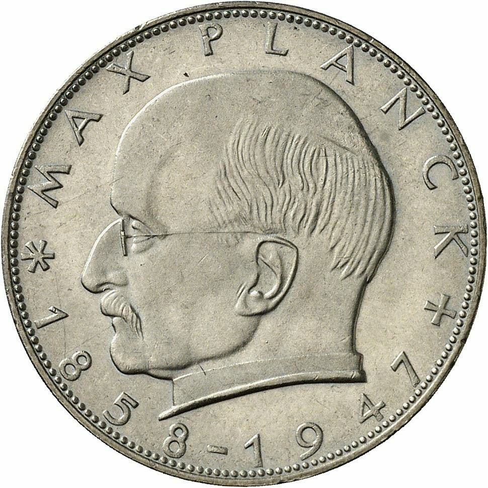 DE 2 Deutsche Mark 1965 G