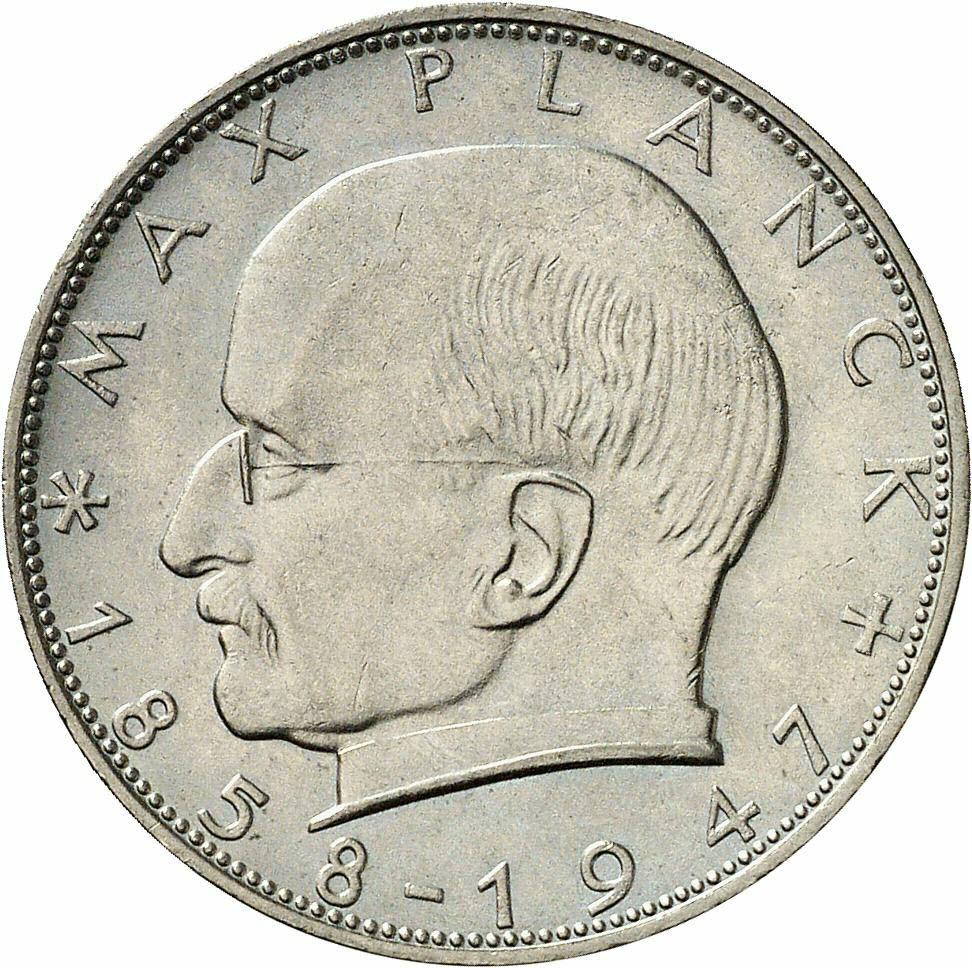 DE 2 Deutsche Mark 1959 F