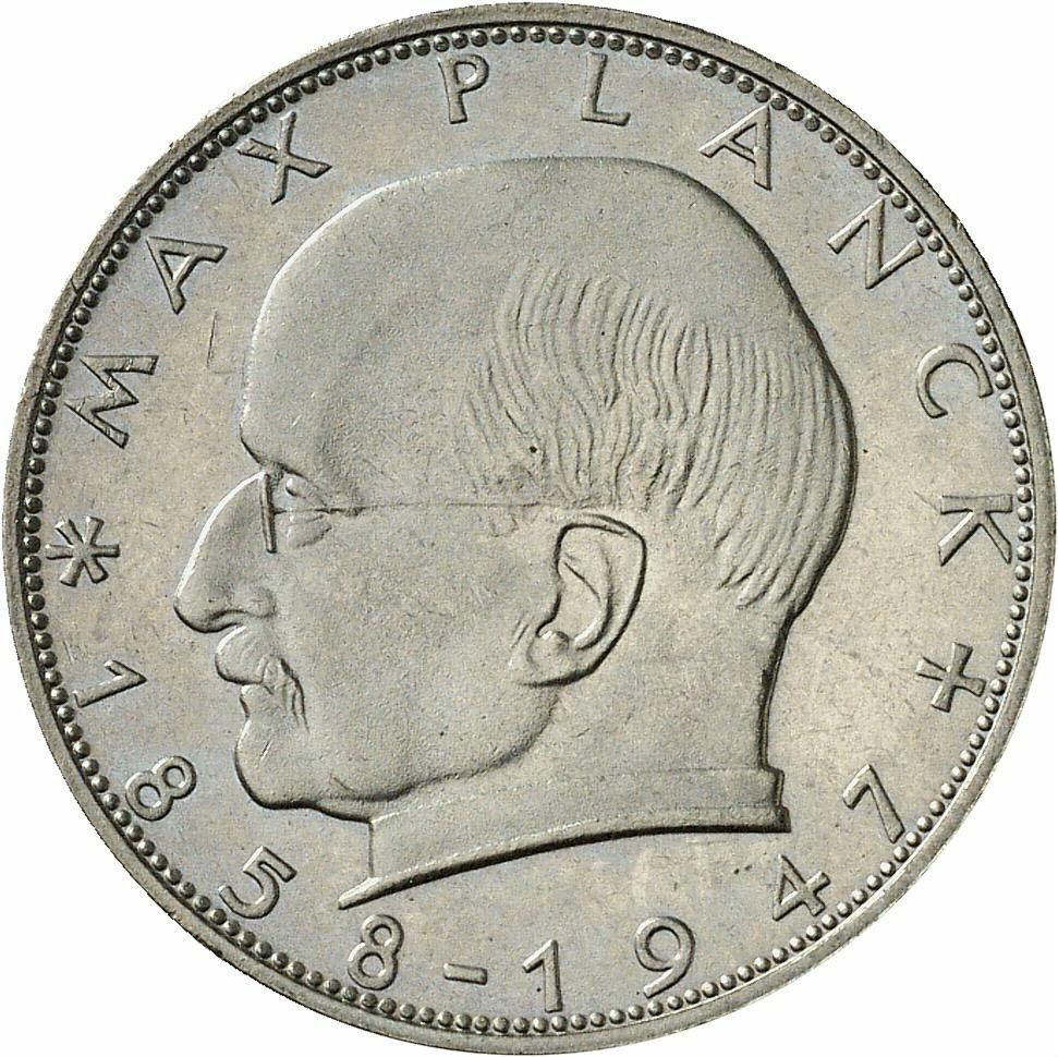 DE 2 Deutsche Mark 1960 F