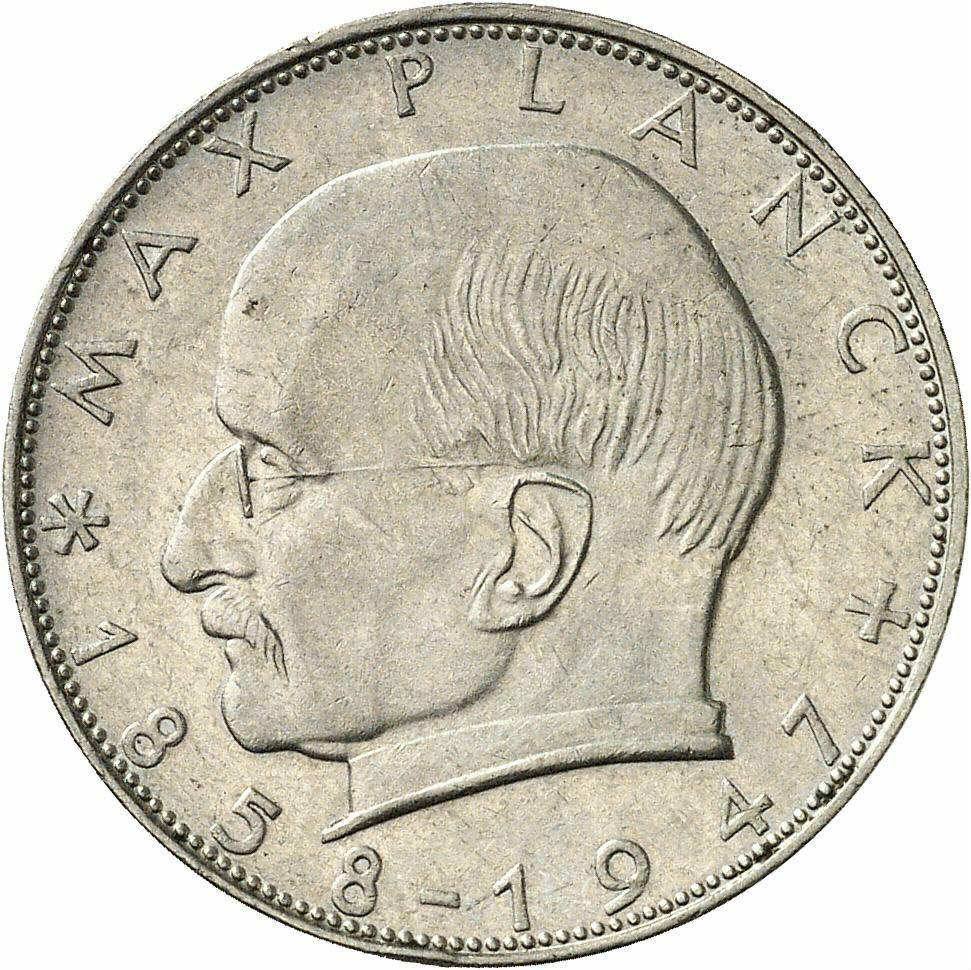 DE 2 Deutsche Mark 1958 G