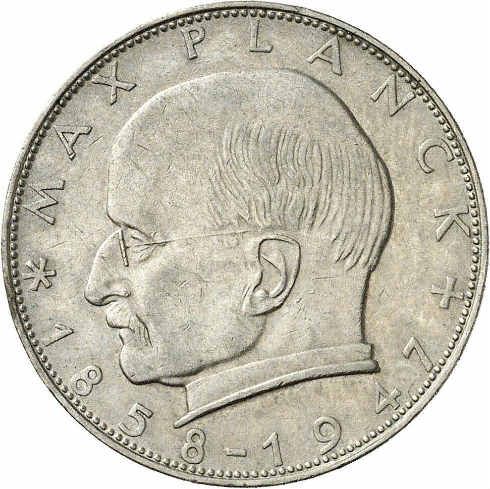 DE 2 Deutsche Mark 1957 F