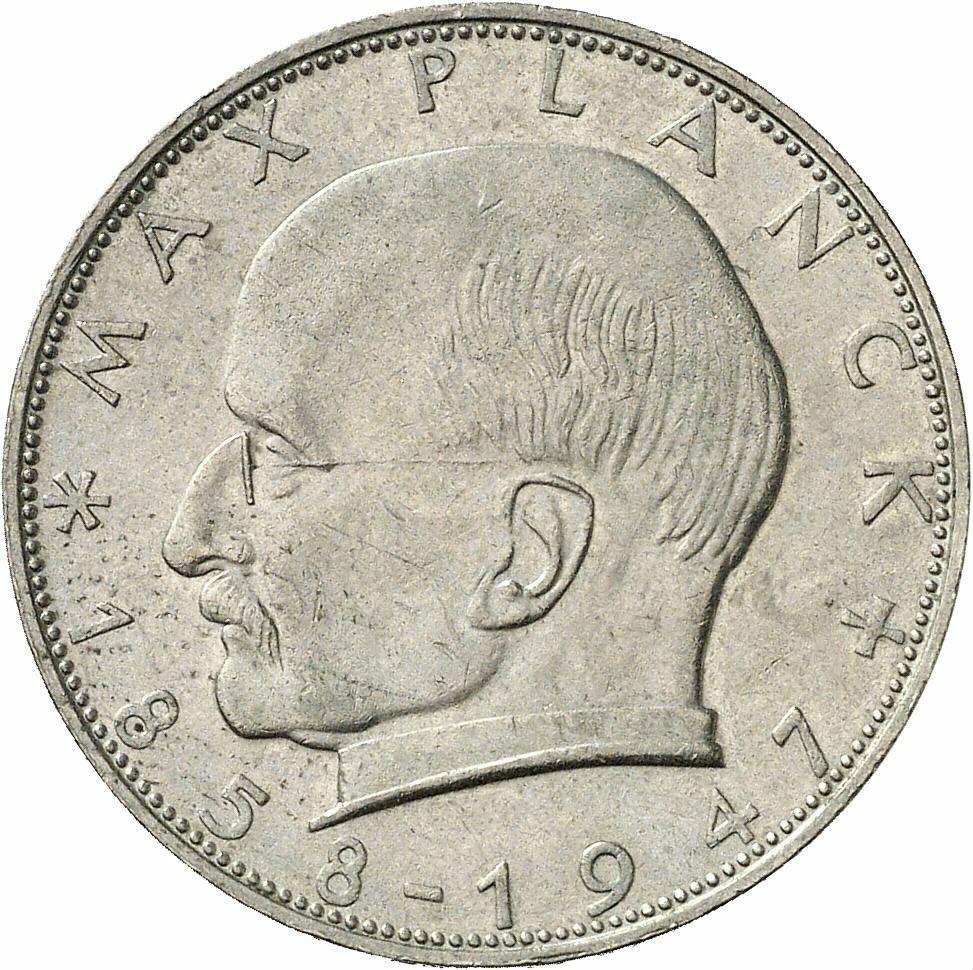 DE 2 Deutsche Mark 1960 D