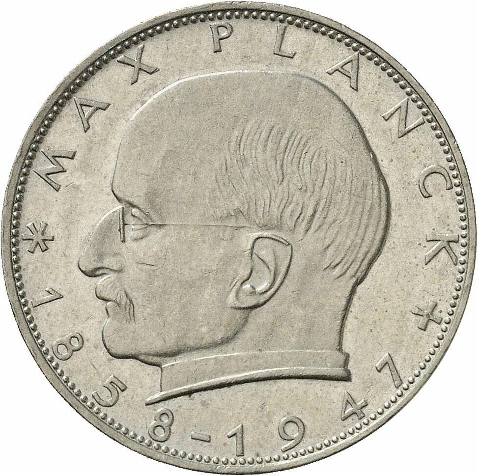 DE 2 Deutsche Mark 1960 J