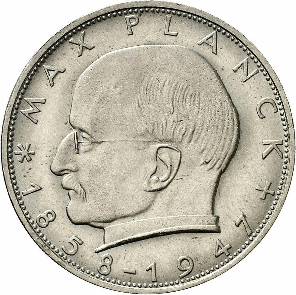 DE 2 Deutsche Mark 1964 F
