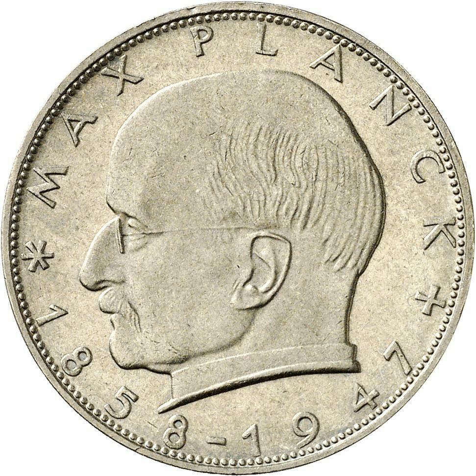 DE 2 Deutsche Mark 1965 J