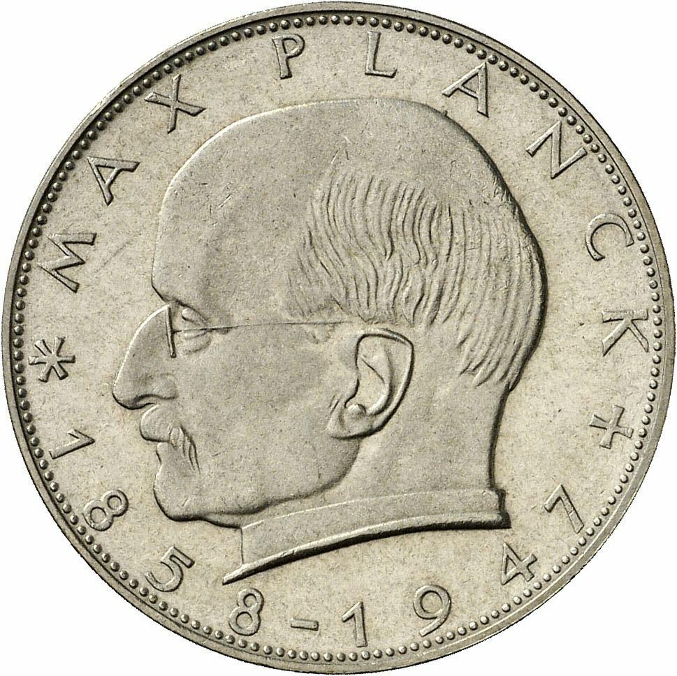 DE 2 Deutsche Mark 1964 G