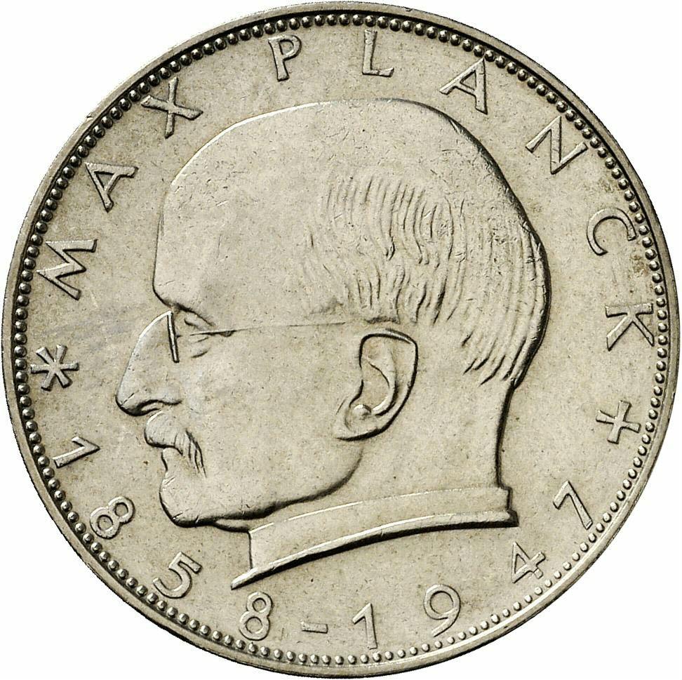 DE 2 Deutsche Mark 1964 D