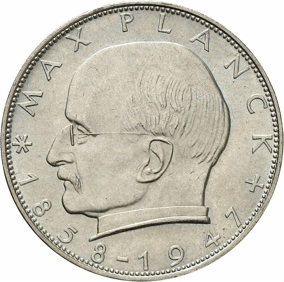 DE 2 Deutsche Mark 1961 D