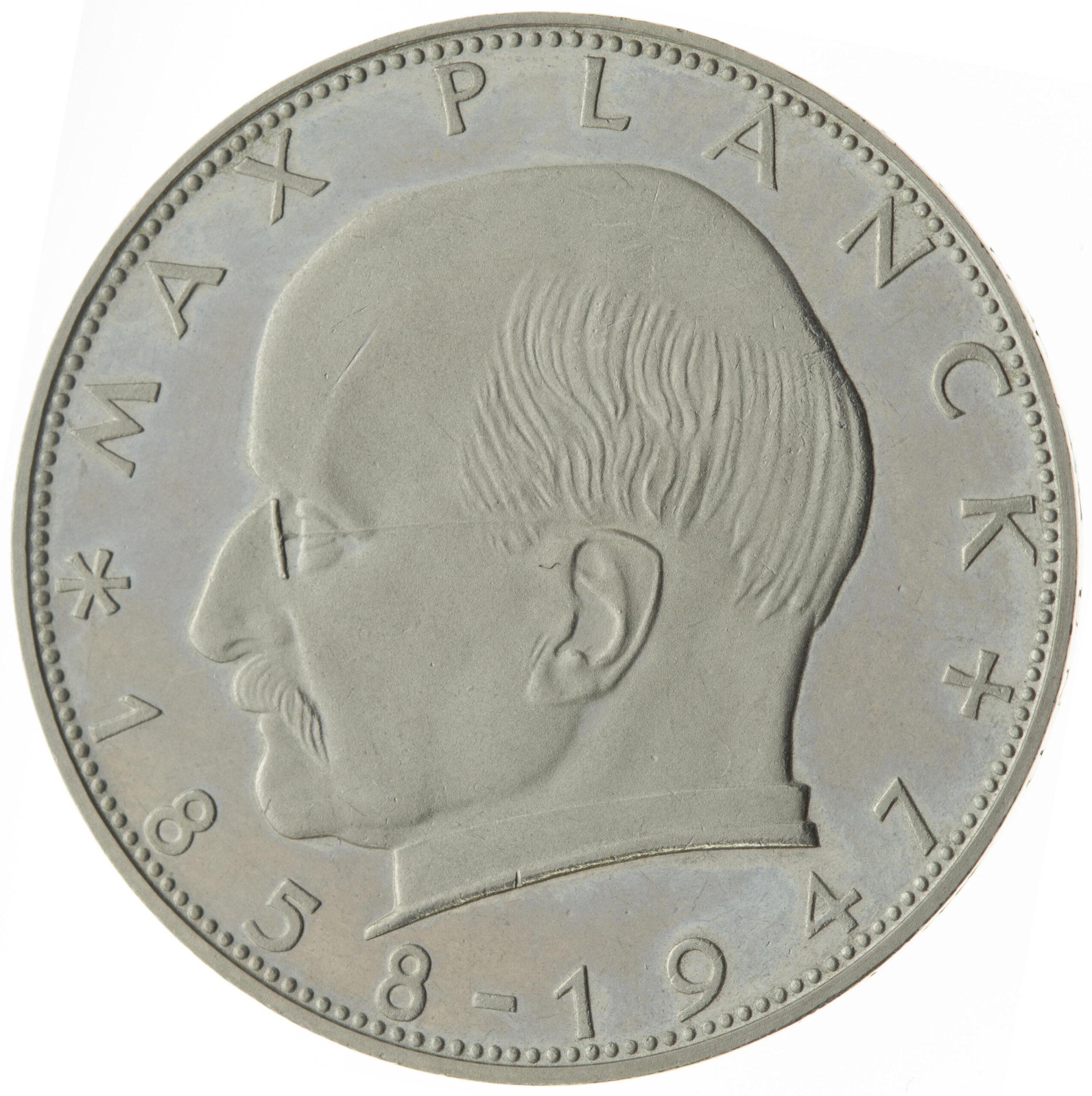 DE 2 Deutsche Mark 1957 D