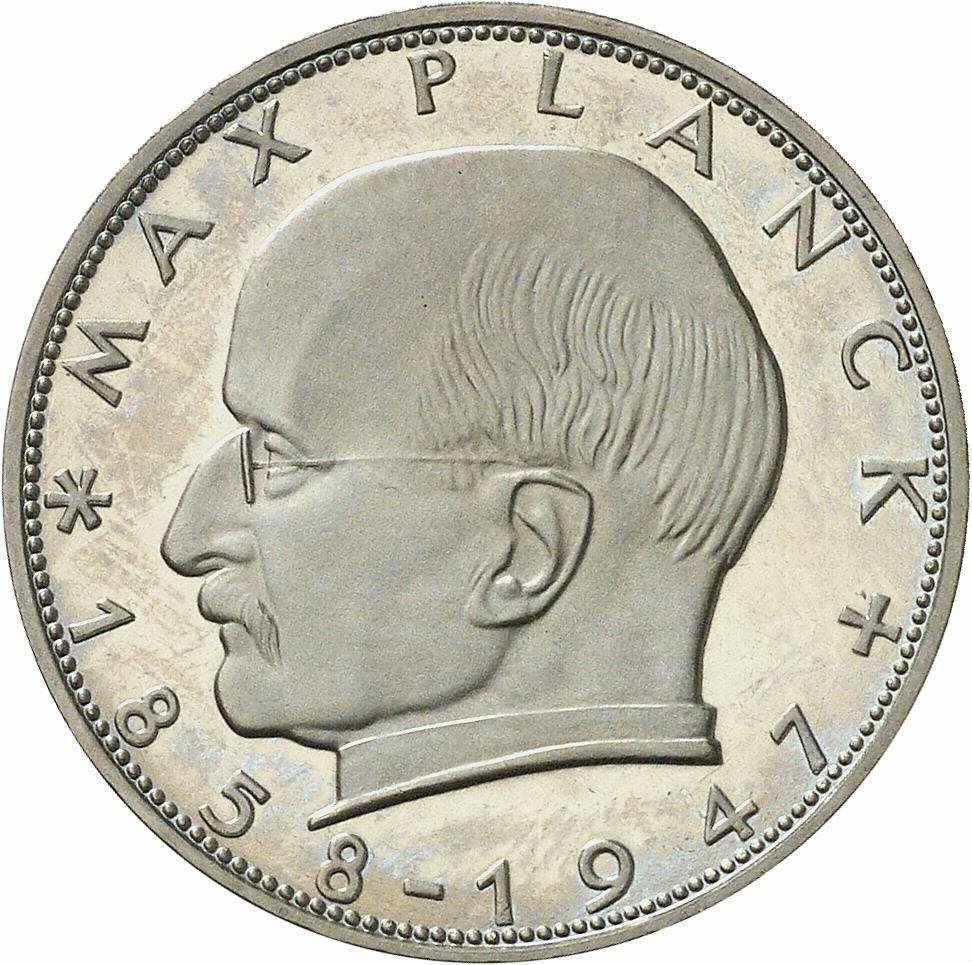 DE 2 Deutsche Mark 1958 F
