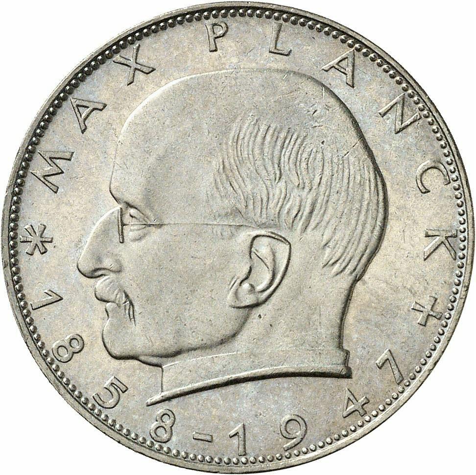 DE 2 Deutsche Mark 1957 J