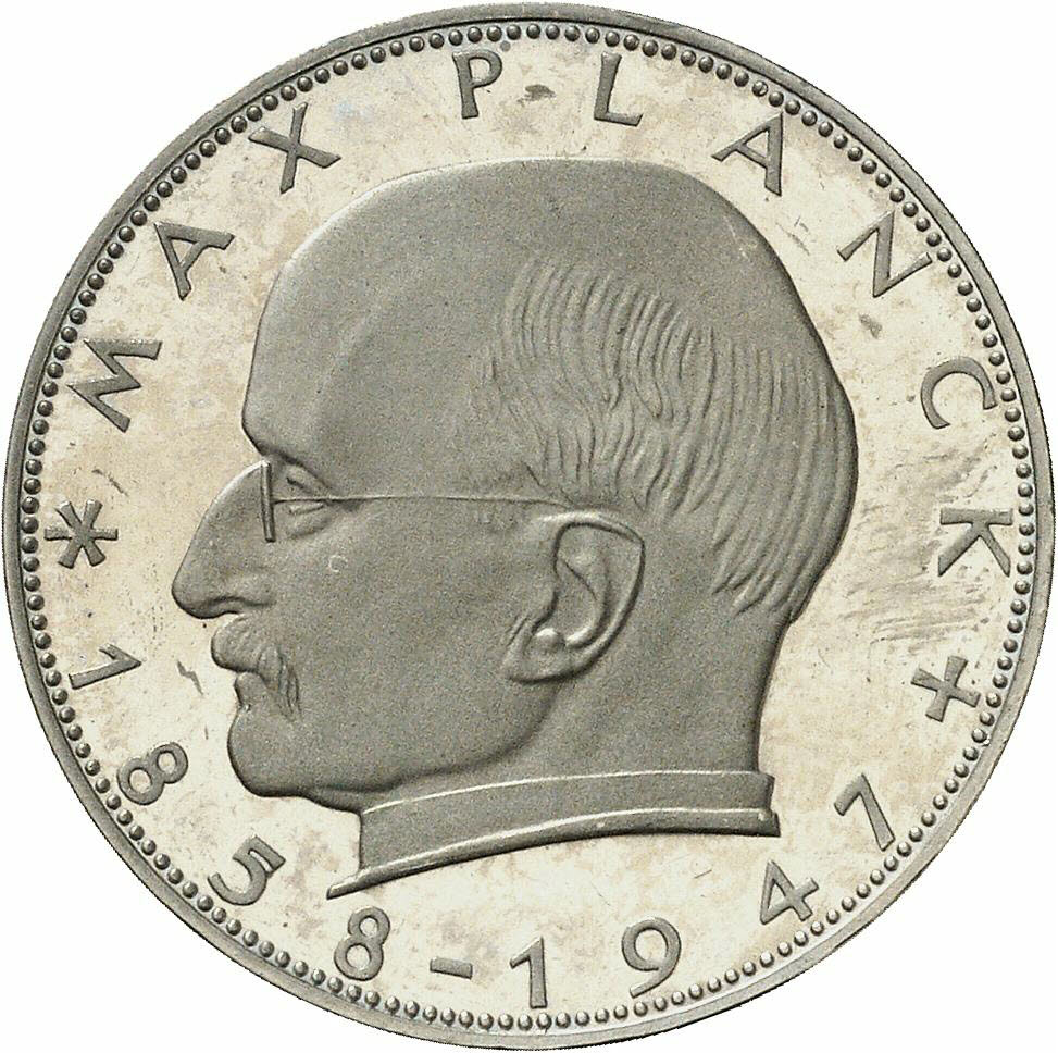 DE 2 Deutsche Mark 1958 J