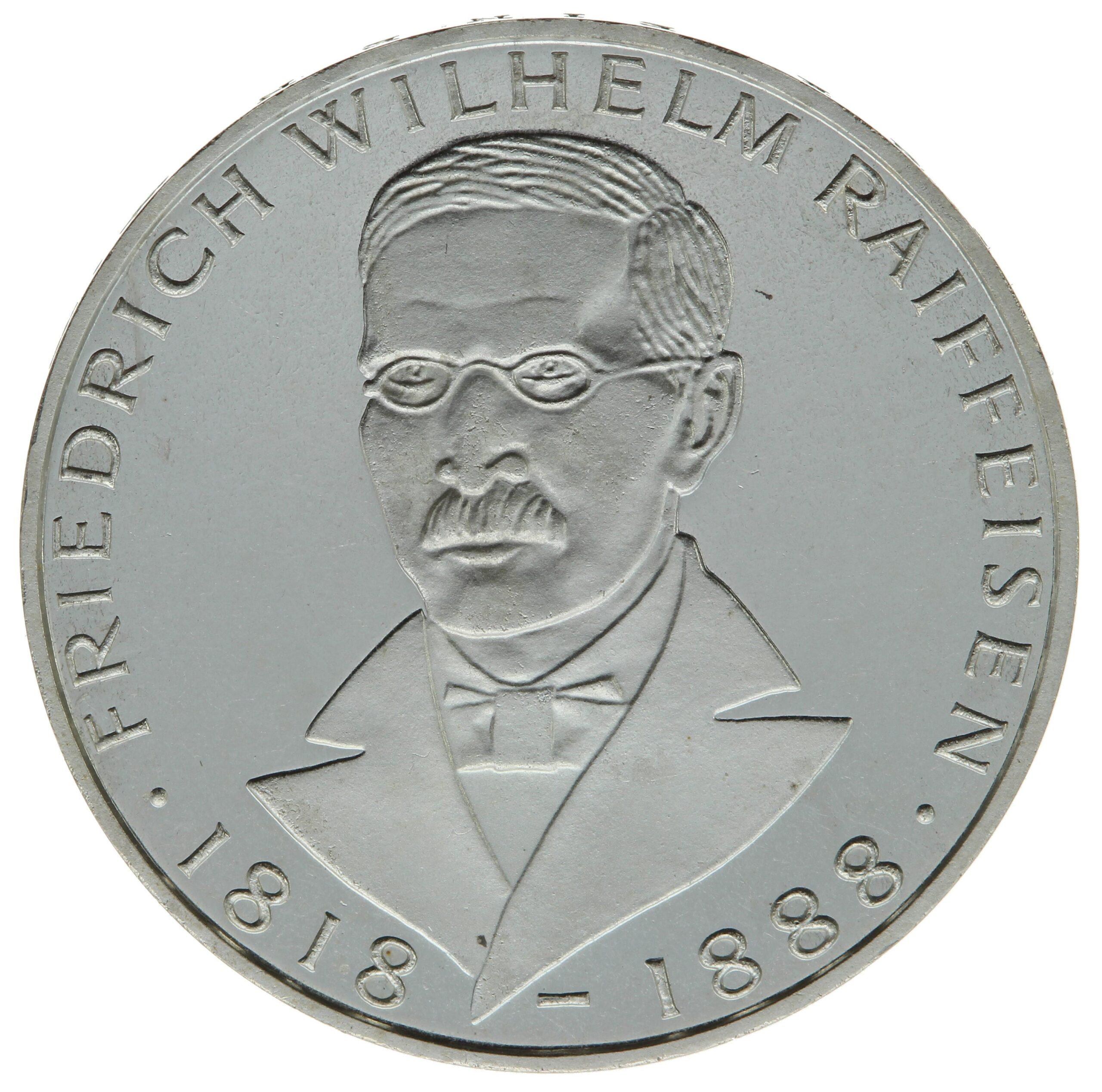 DE 5 Deutsche Mark 1968 J