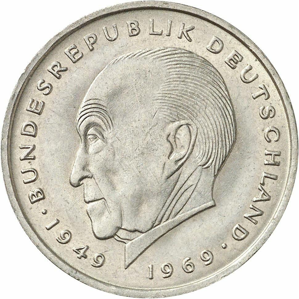 DE 2 Deutsche Mark 1970 F