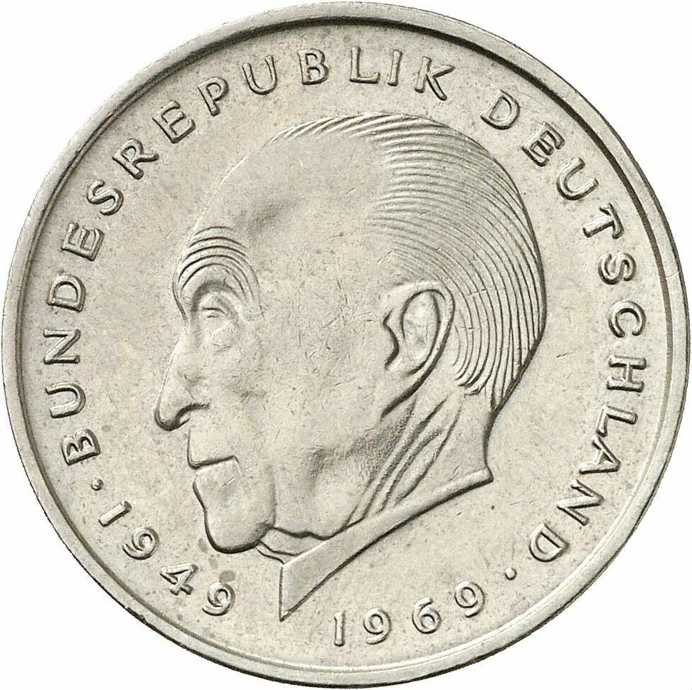 DE 2 Deutsche Mark 1970 G