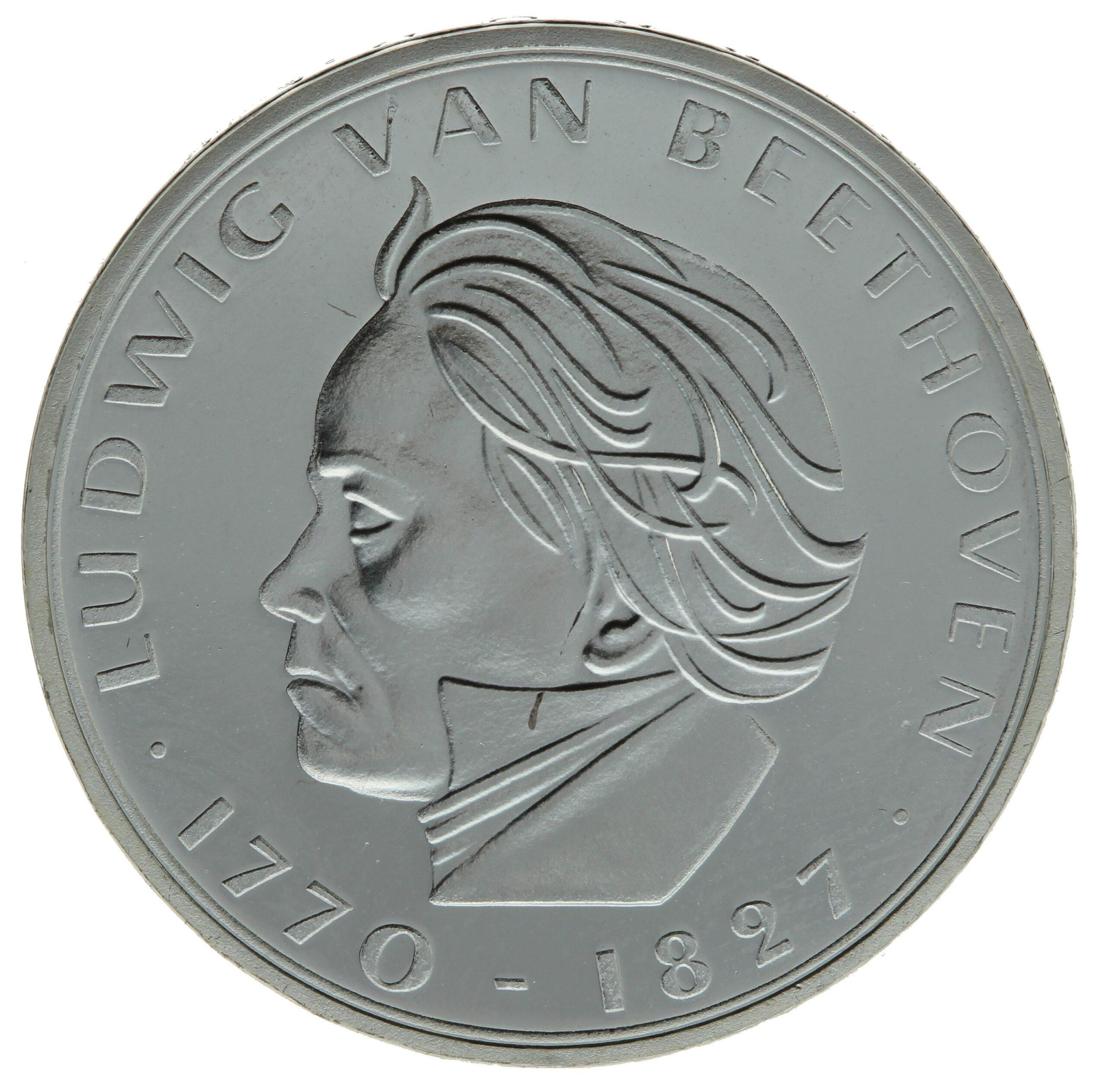 DE 5 Deutsche Mark 1970 F