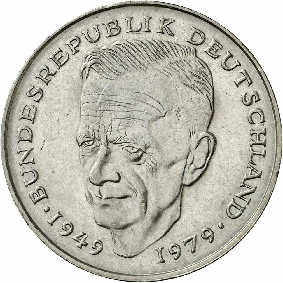 DE 2 Deutsche Mark 1980 F