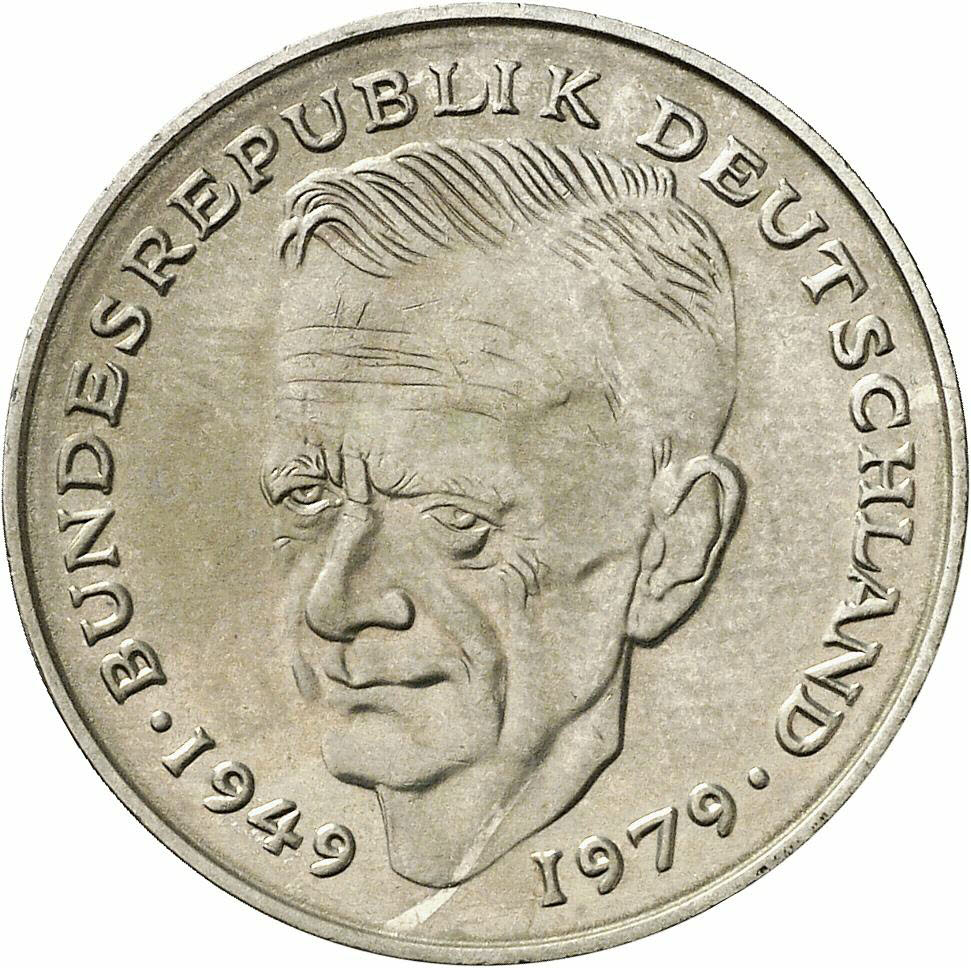 DE 2 Deutsche Mark 1981 D