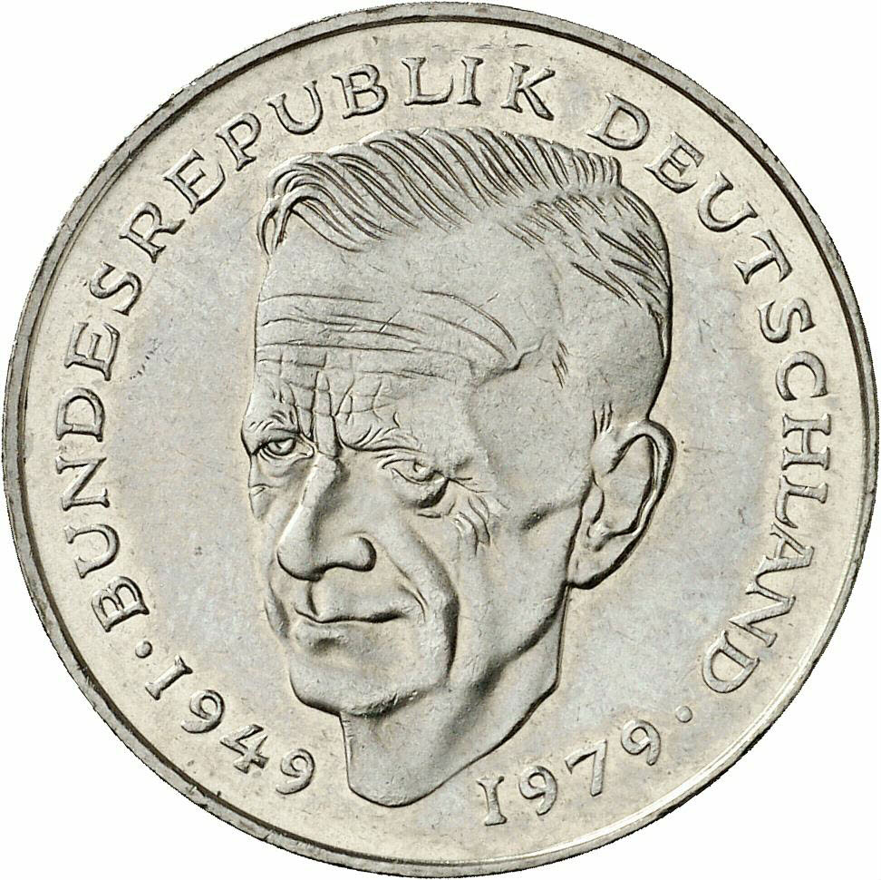 DE 2 Deutsche Mark 1979 F
