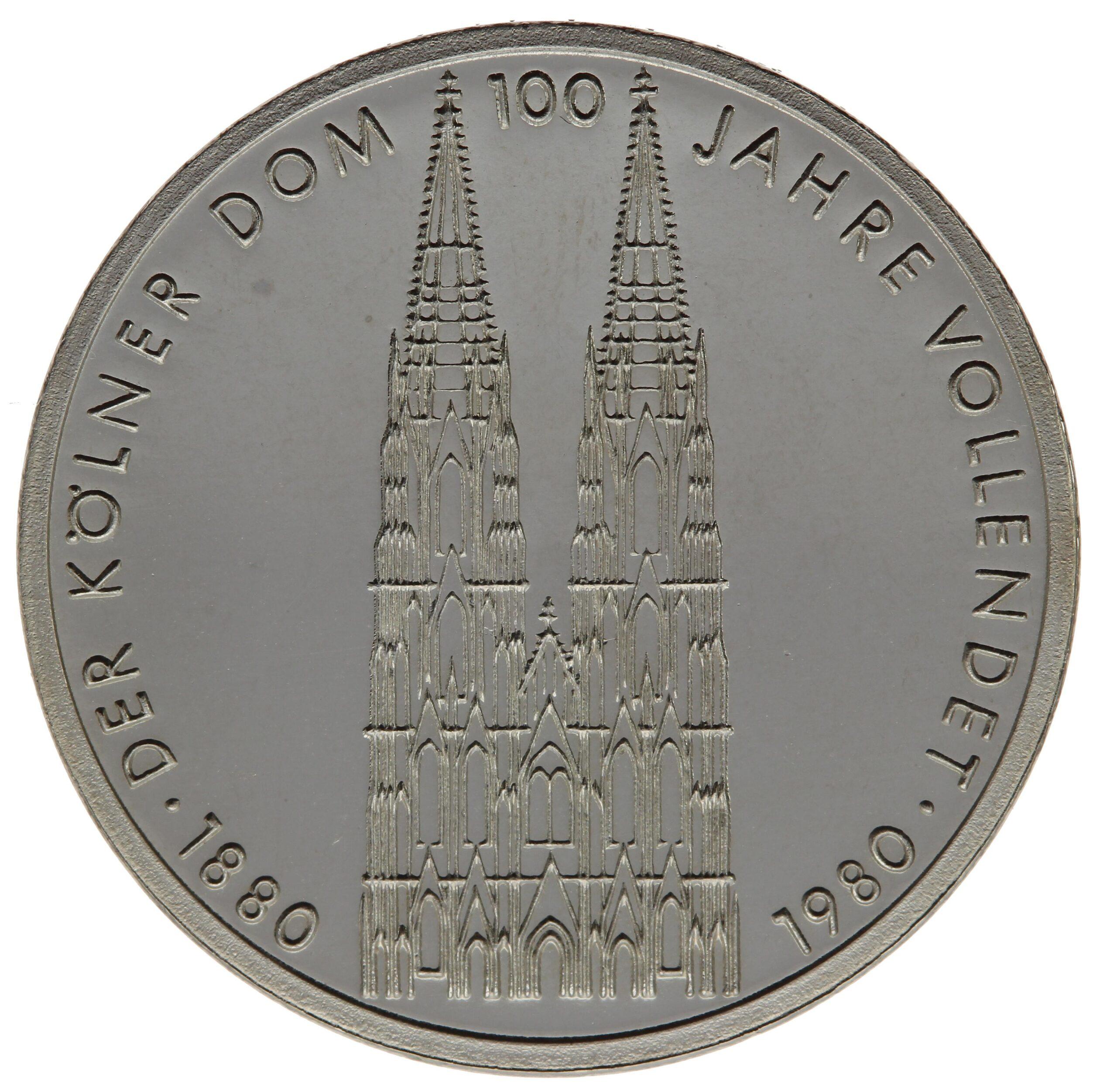 DE 5 Deutsche Mark 1980 F