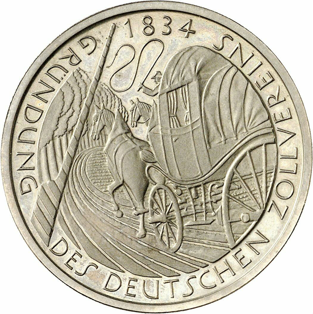 DE 5 Deutsche Mark 1984 D
