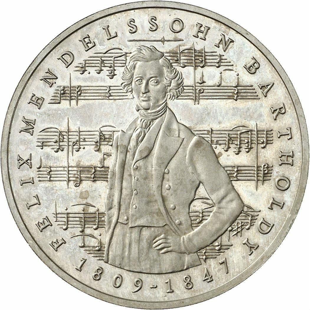 DE 5 Deutsche Mark 1984 J
