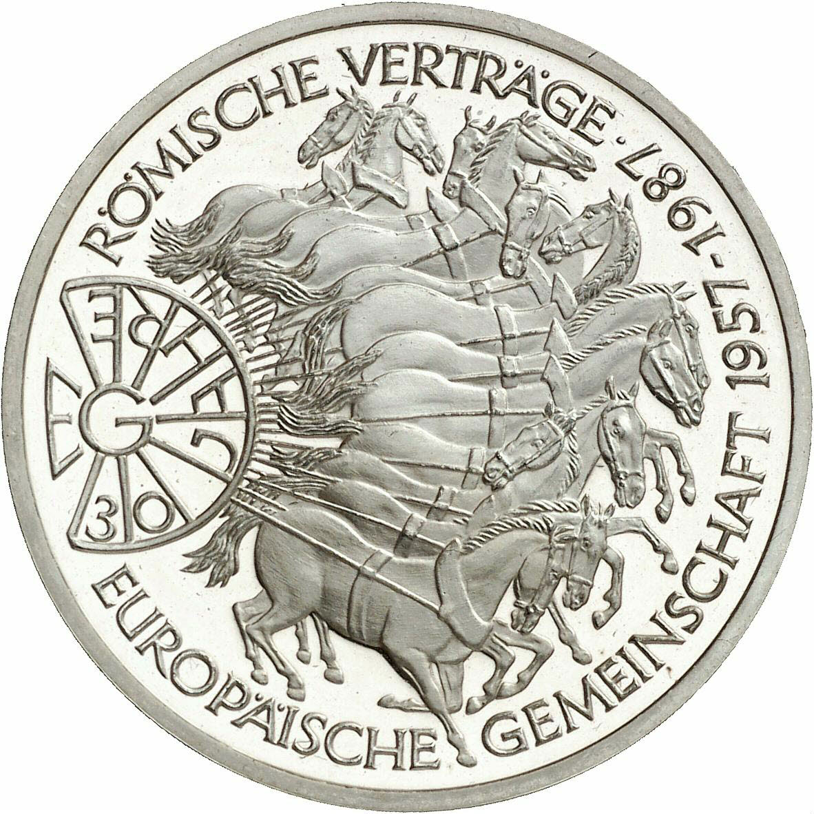 DE 10 Deutsche Mark 1987 G