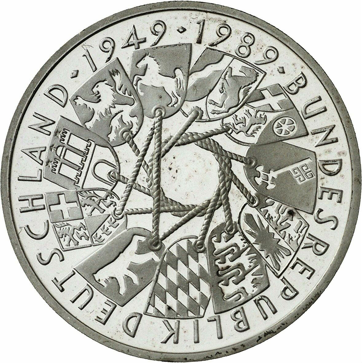 DE 10 Deutsche Mark 1989 G