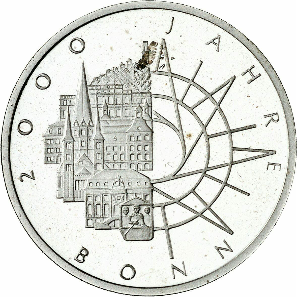 DE 10 Deutsche Mark 1989 D