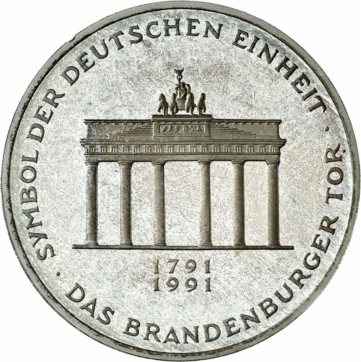 DE 10 Deutsche Mark 1991 A