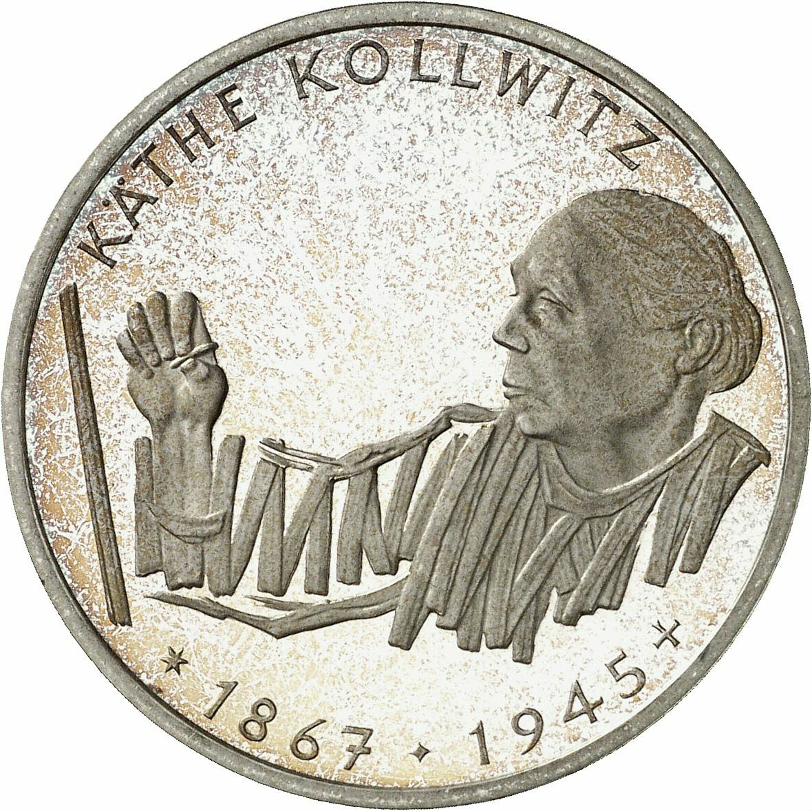 DE 10 Deutsche Mark 1992 G