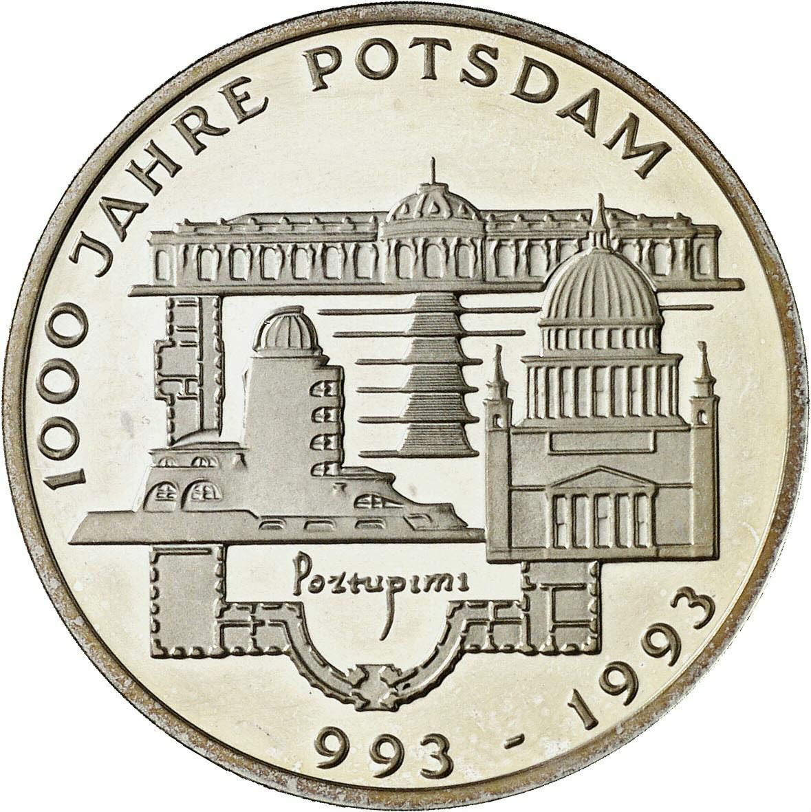 DE 10 Deutsche Mark 1993 F