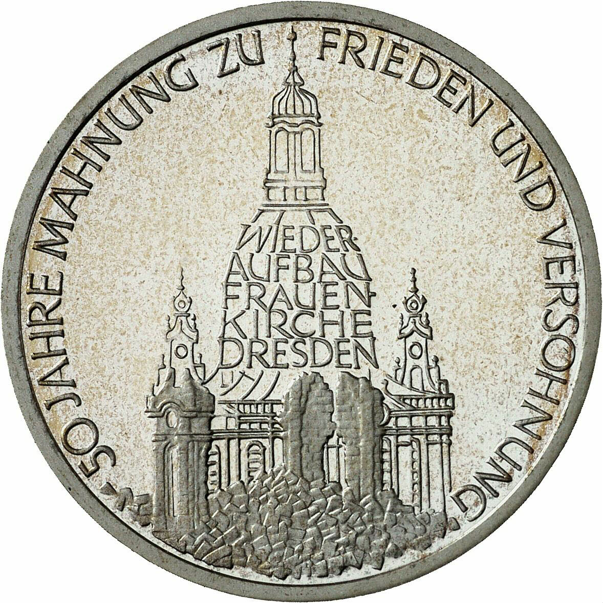 DE 10 Deutsche Mark 1995 J