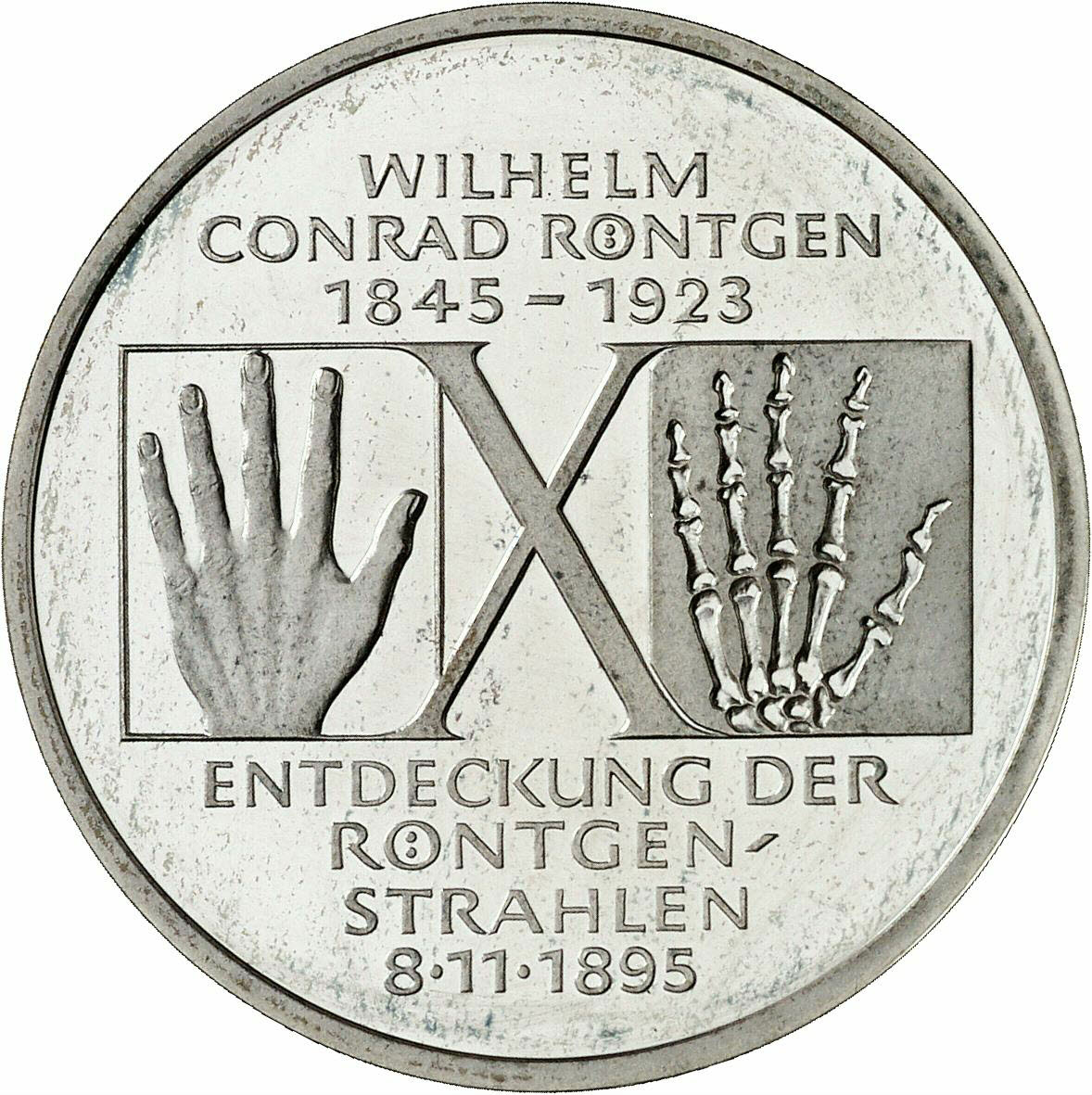 DE 10 Deutsche Mark 1995 D